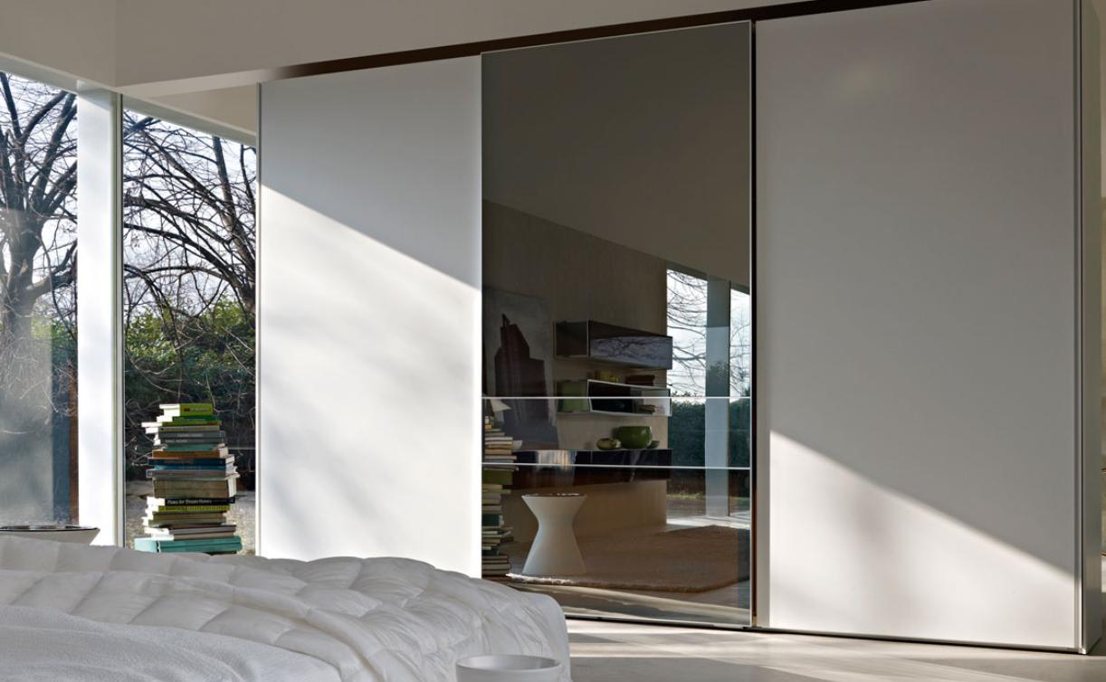 White and Mirror Wardrobe Doors