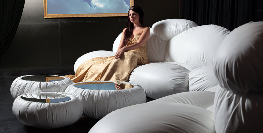 Cloud Shaped Couch