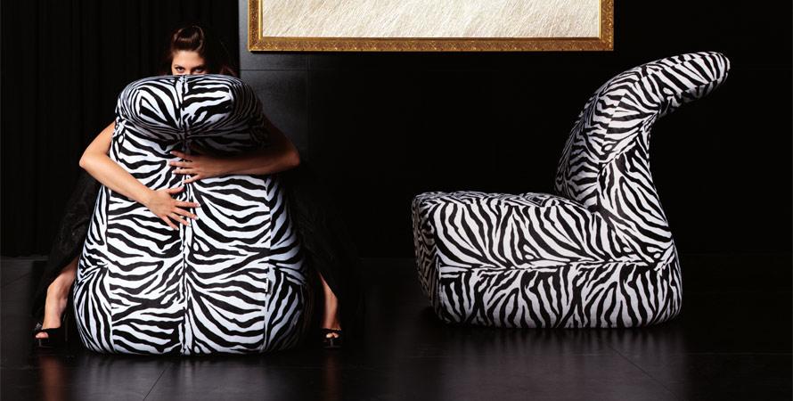 Zebra Shaped Sofa sets