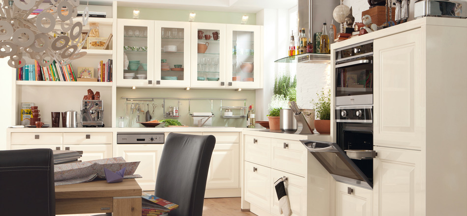 Cream colored Kitchen Design