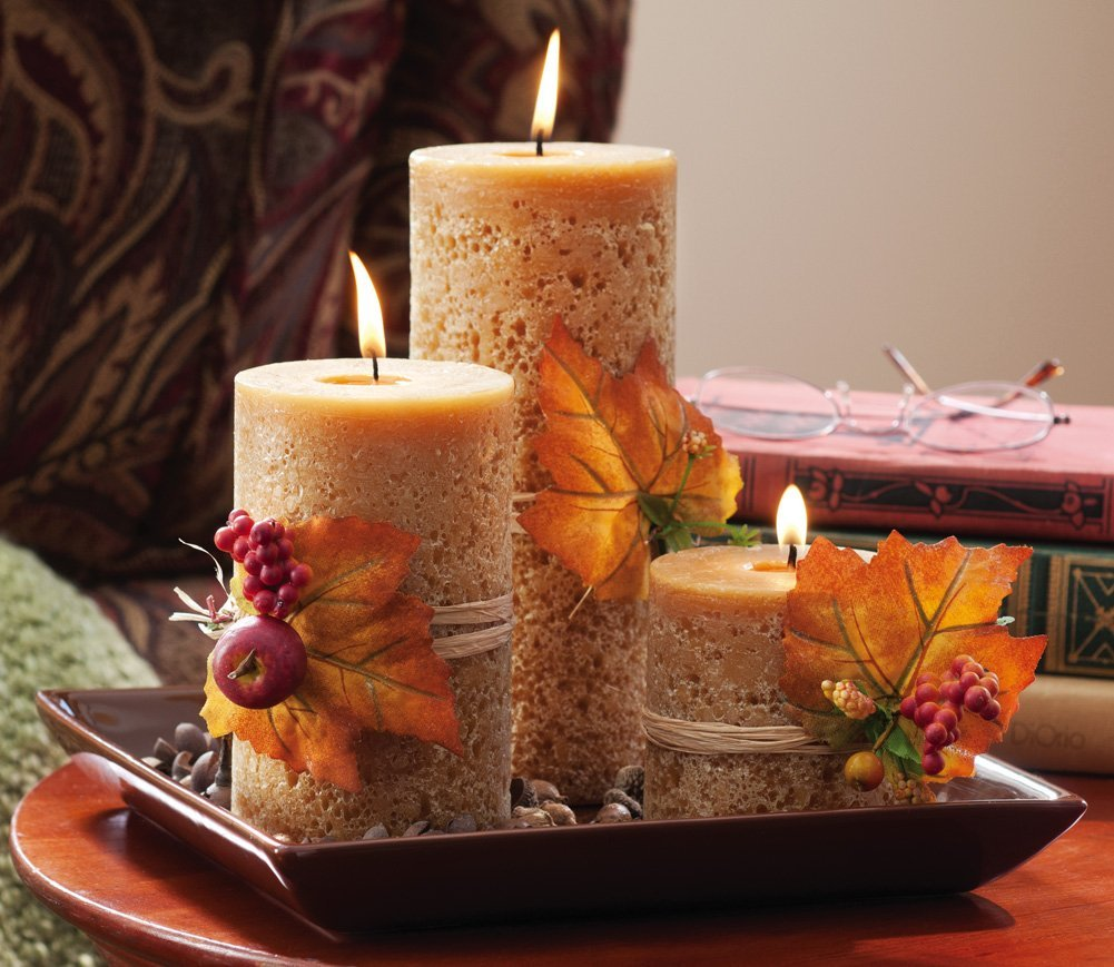 Beautiful Candle Decoration for Table
