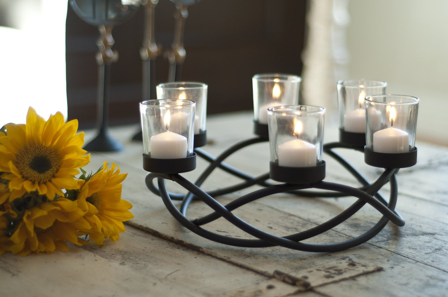 Iron Candle Stand Designs : Beautiful candle holder designs home designing