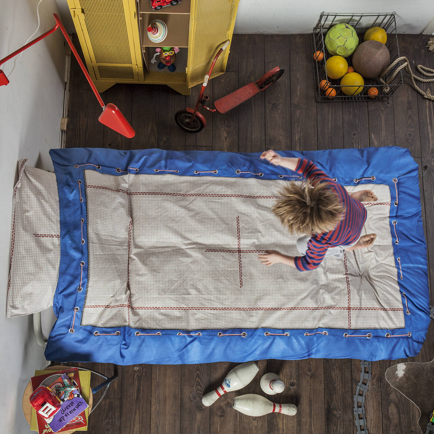 trampoline kids bed sets