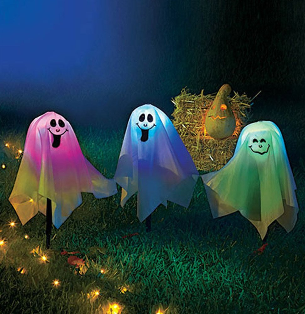 Changing LED Halloween Ghost Lights