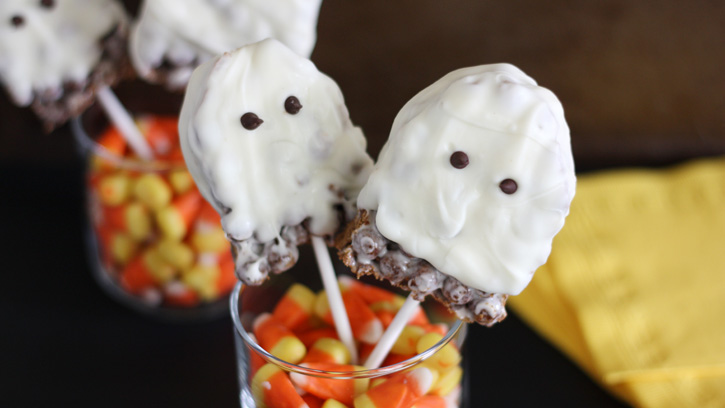 Cocoa Puffs Ghost Pops