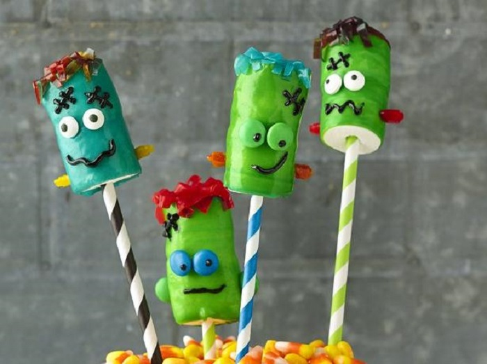 Frankenstein Fruit Roll Ups