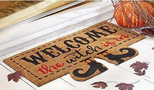 Halloween Coir Doormat with Feet