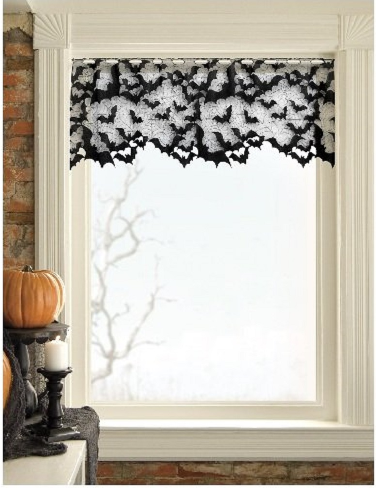 Halloween Curtain Decoration