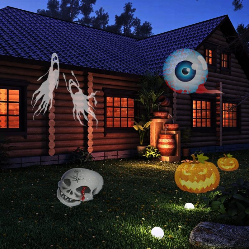 Halloween Moving Plug-in Light