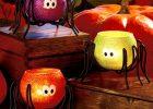 Halloween Spider Tea Light Candle holders