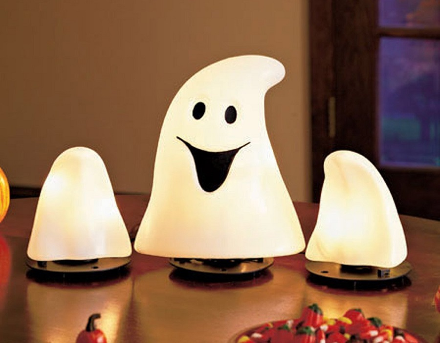 Lighted Indoor Ghost Halloween Lights