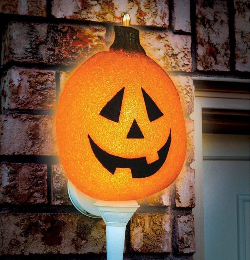 Sparkling Pumpkin Porch Light Cover