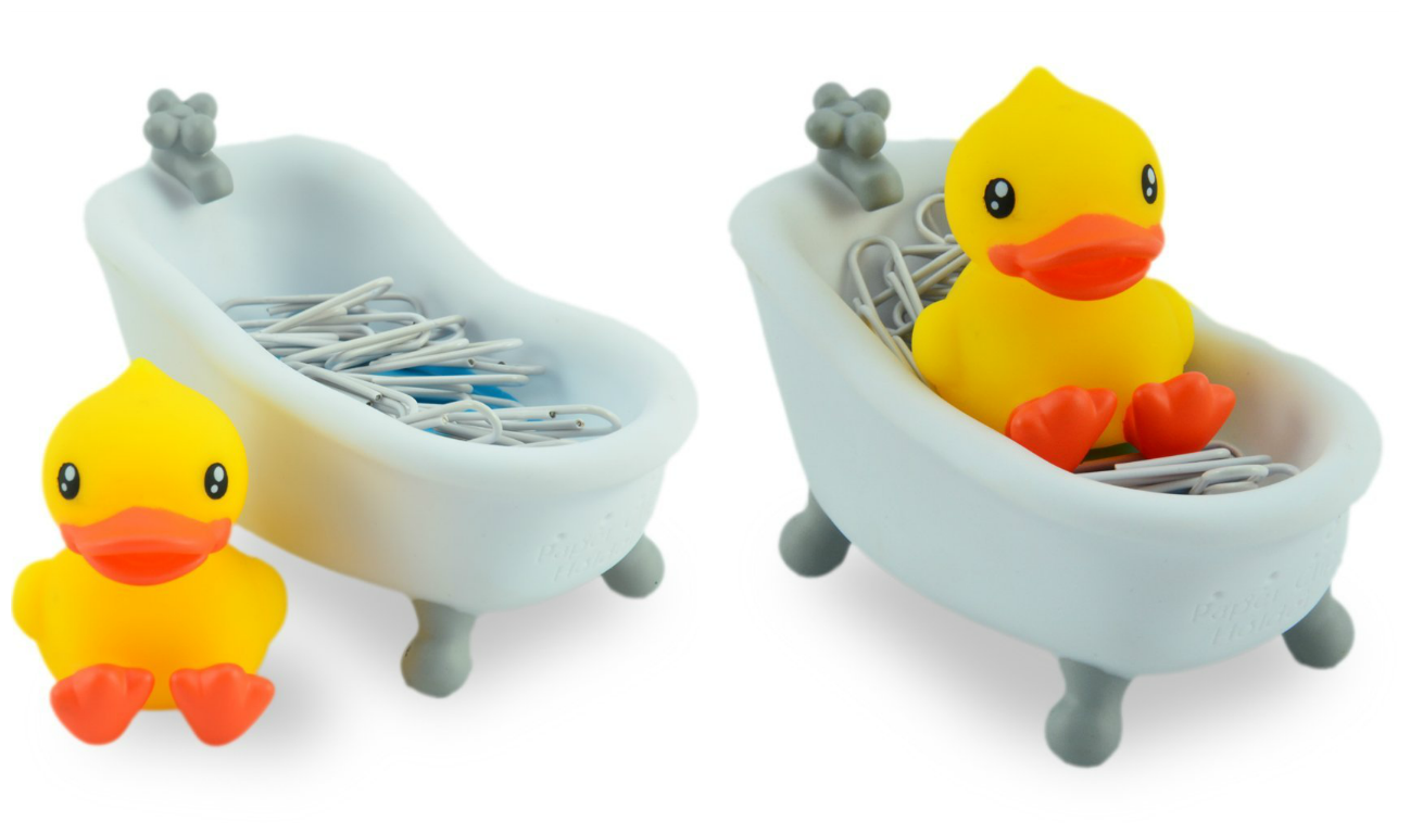 Bathtime Duckie Paper Clip Holder