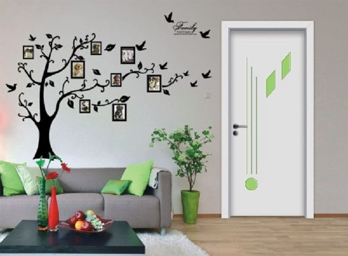 Black Wall Decal
