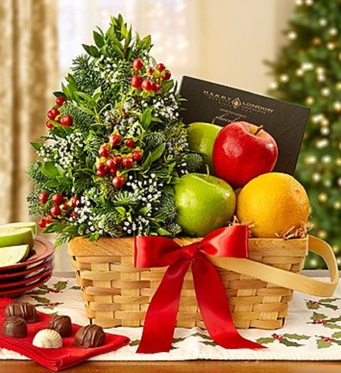 Bountiful Basket for Christmas