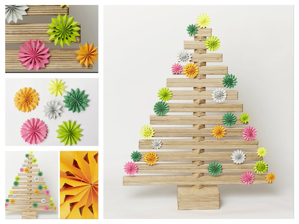 Christmas Tree Flower Decoration