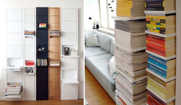 Designer Shelf for Storing Books