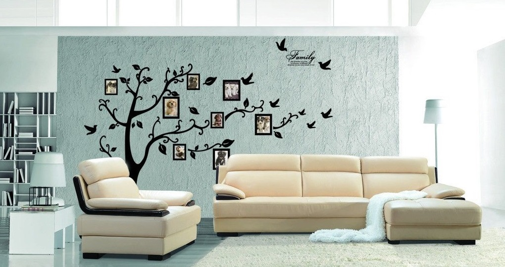Family Tree Pattern for Living Room