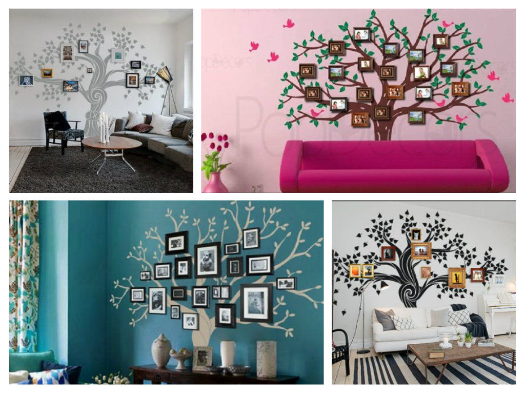 Family Tree Wall Decal Patterns