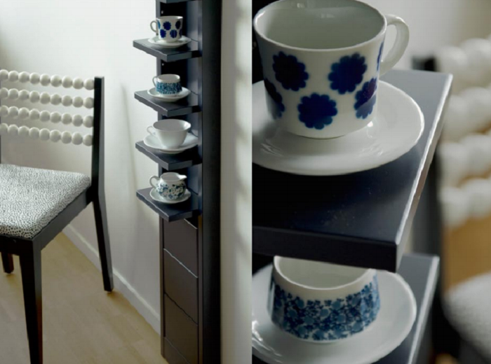 Foldable Shelf for Small Spaces