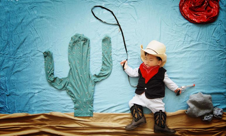 Little Valiant Cowboy