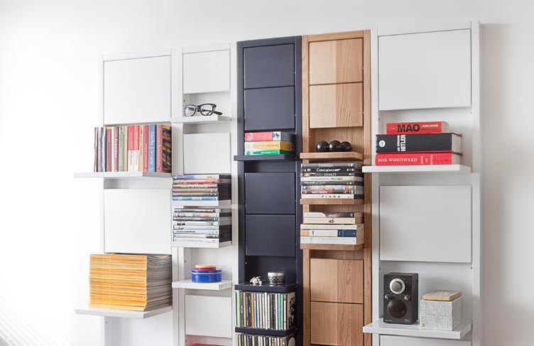 Stylish Fold able Shelf for Small Spaces