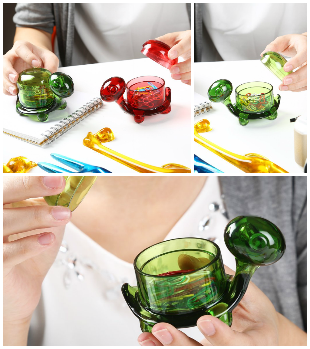 Turtle Shaped Paper Clip holder