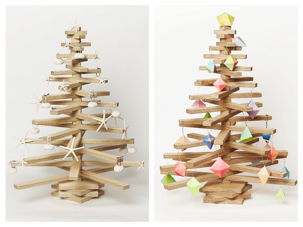 wooden christmas tree decoration - Wooden Christmas Tree
