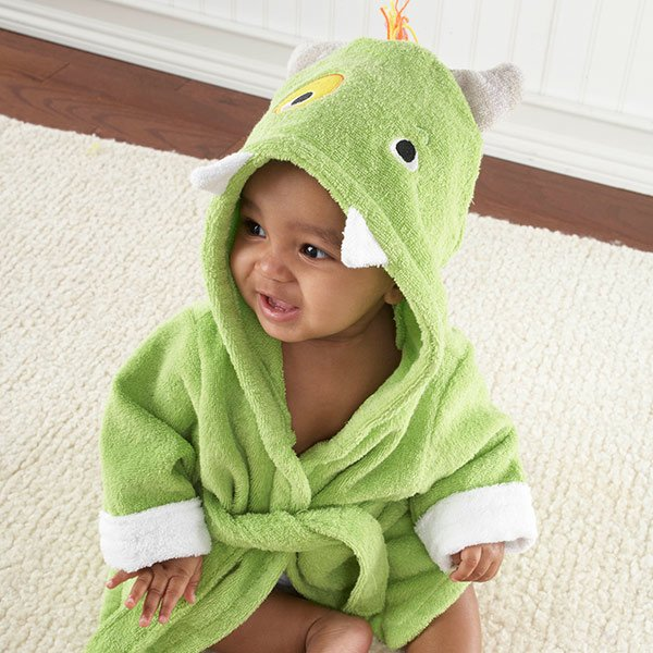 Baby Little Monster Hooded Spa Robe