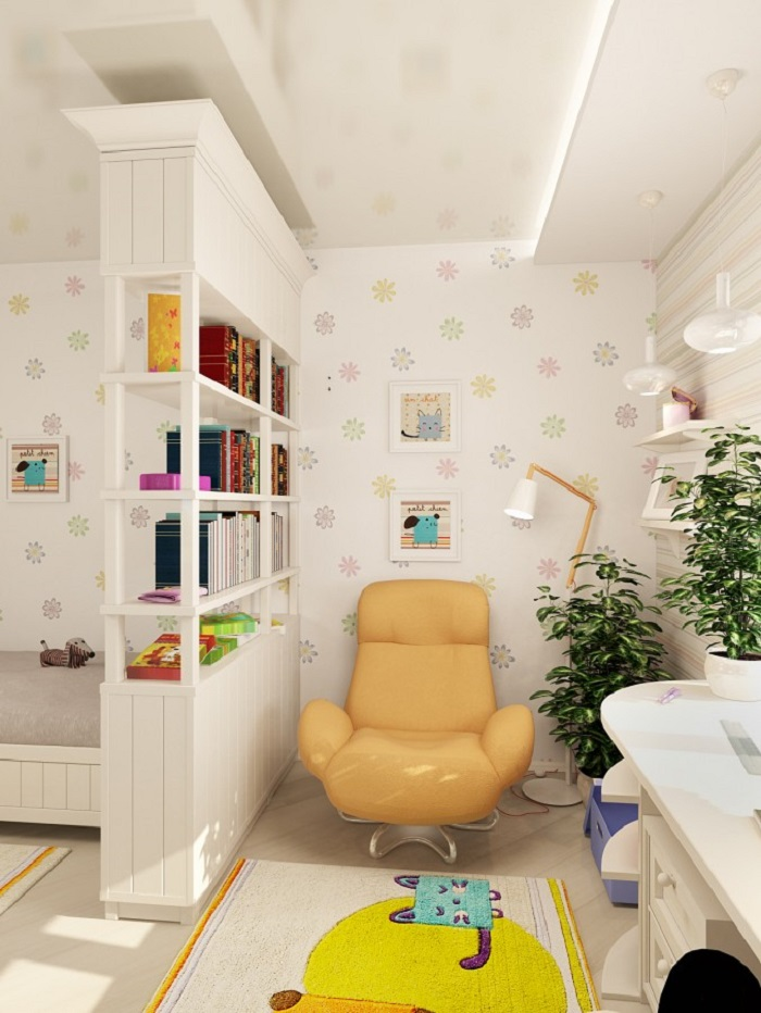 Comfortable Chair for Kids in Bedroom