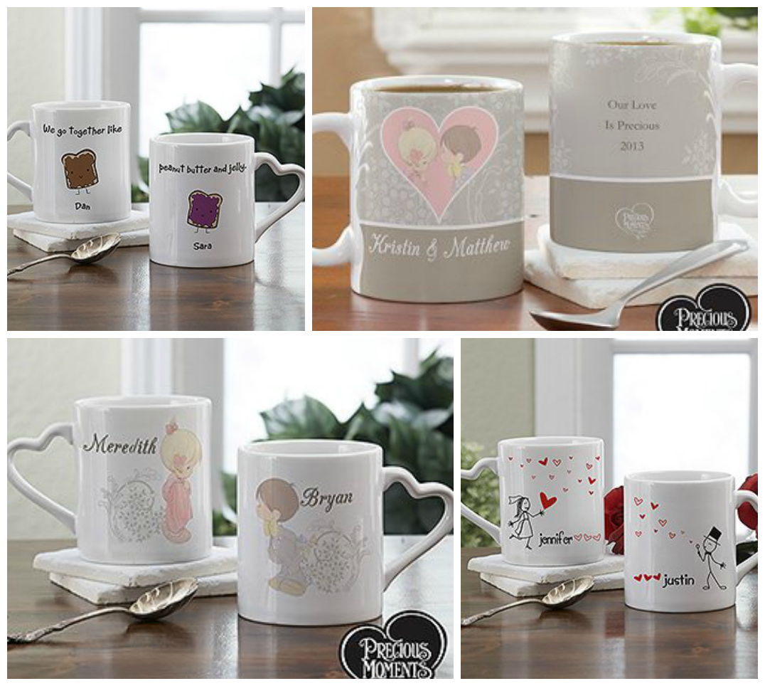 Couples Personalized Romantic Coffee Mugs