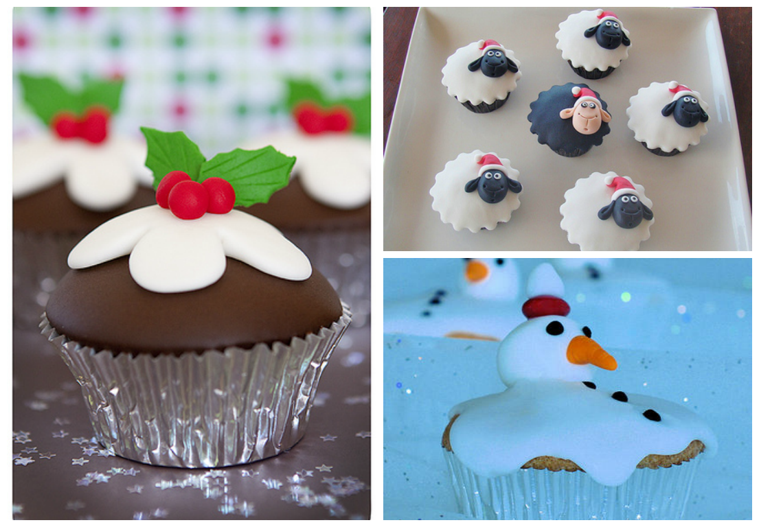 Cup Cakes for Christmas Party