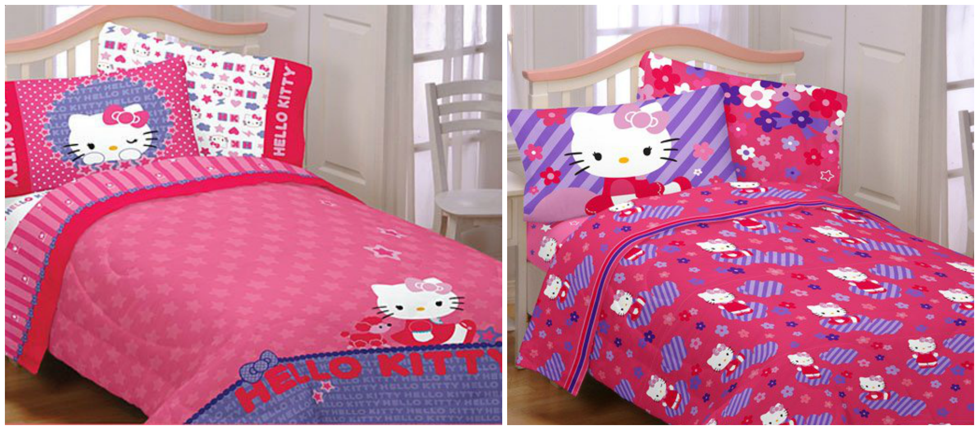 Pink hello kitty bedsheet - Hello Kitty Bedding Set And Hello Kitty Duvet Cover Sets