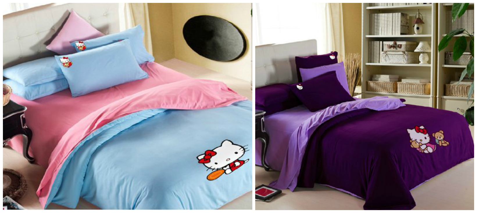 Hello Kitty Comforter for kids room