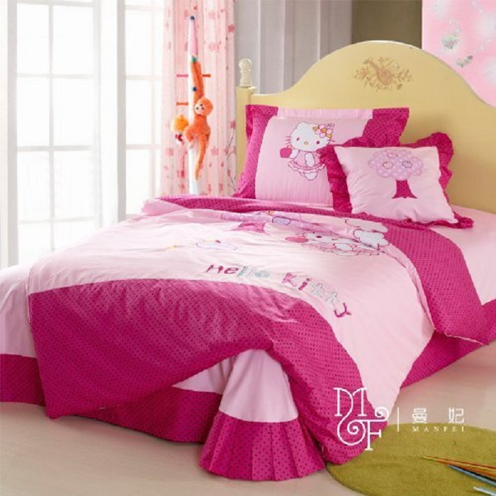 Hello Kitty Pink  Bedding Set
