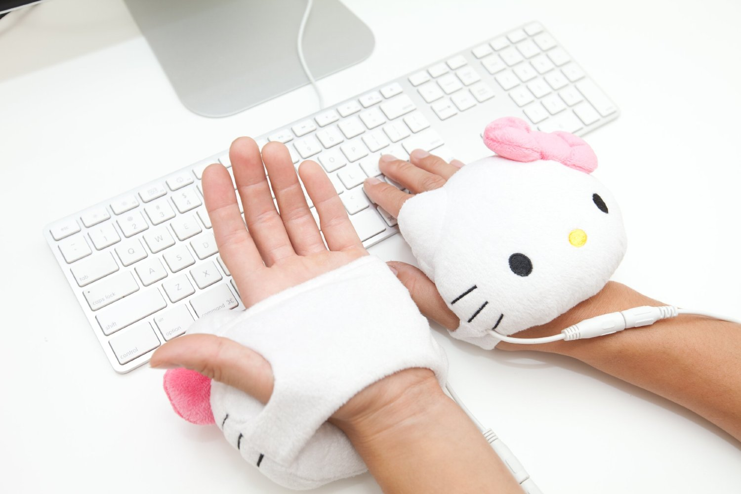 Hello Kitty USB Hand warmer Gloves