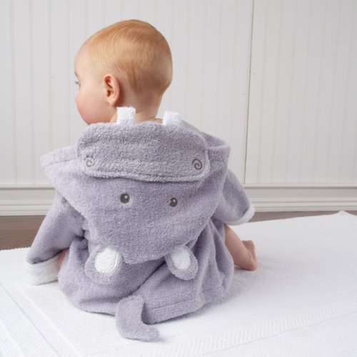 Hippo Hooded Bath Robe