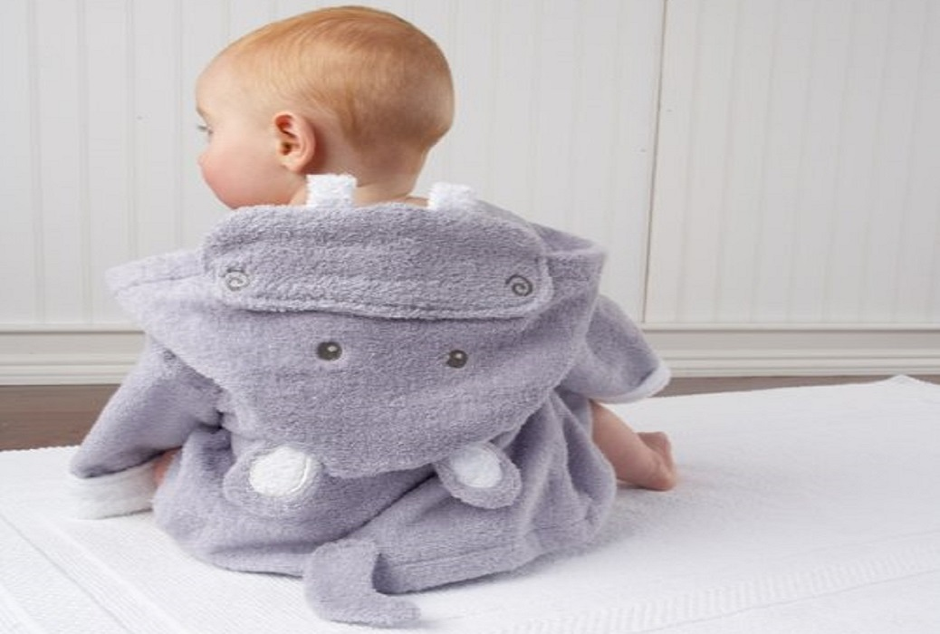 Cute Animal Themed Baby Robes