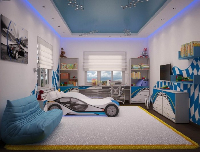 Kids Room Design For Boys