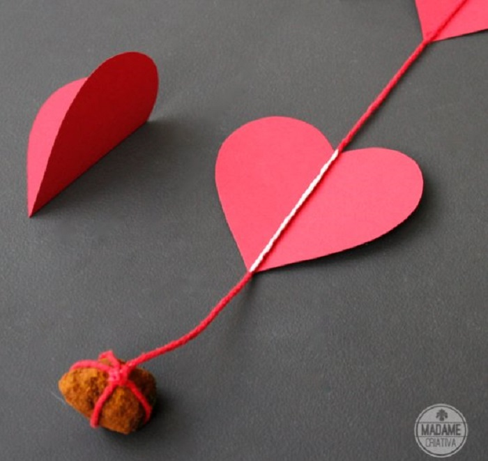 Love Curtain of Hearts