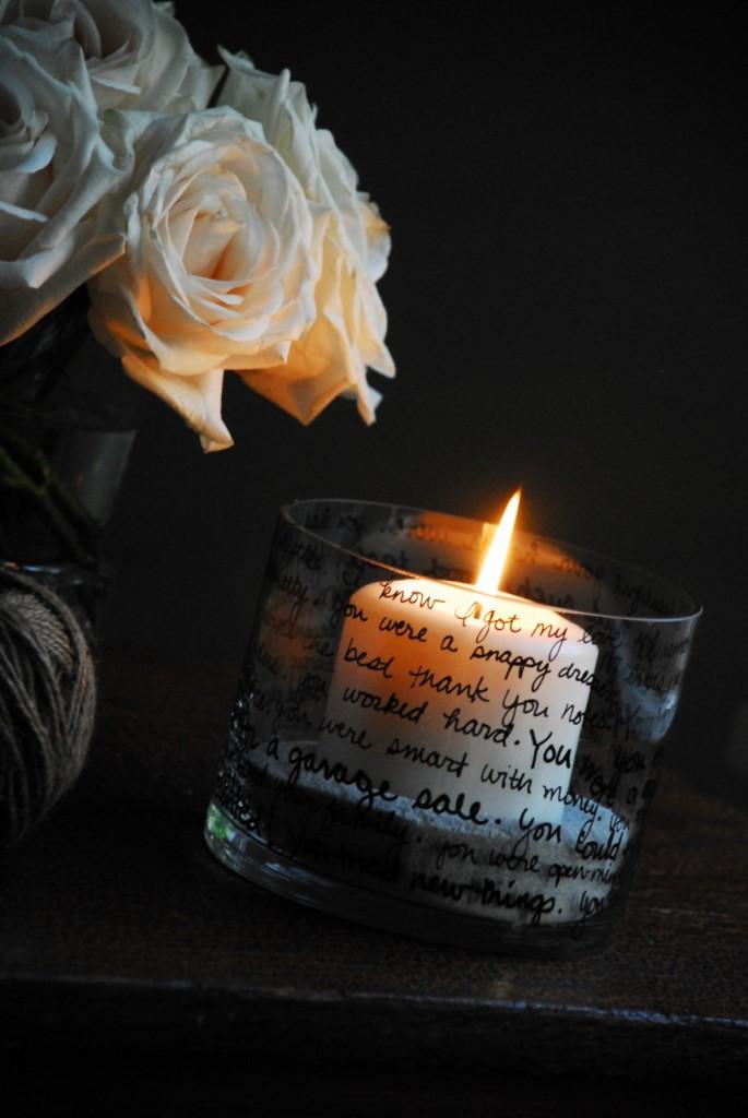 Make Memory Candle