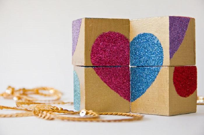 Make Valentines Block Puzzle