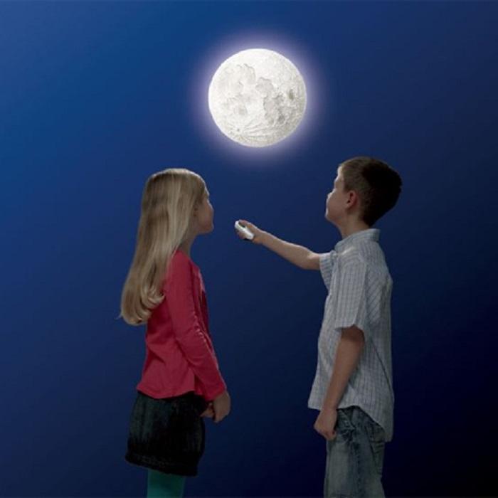 Moon Phase Wall Light