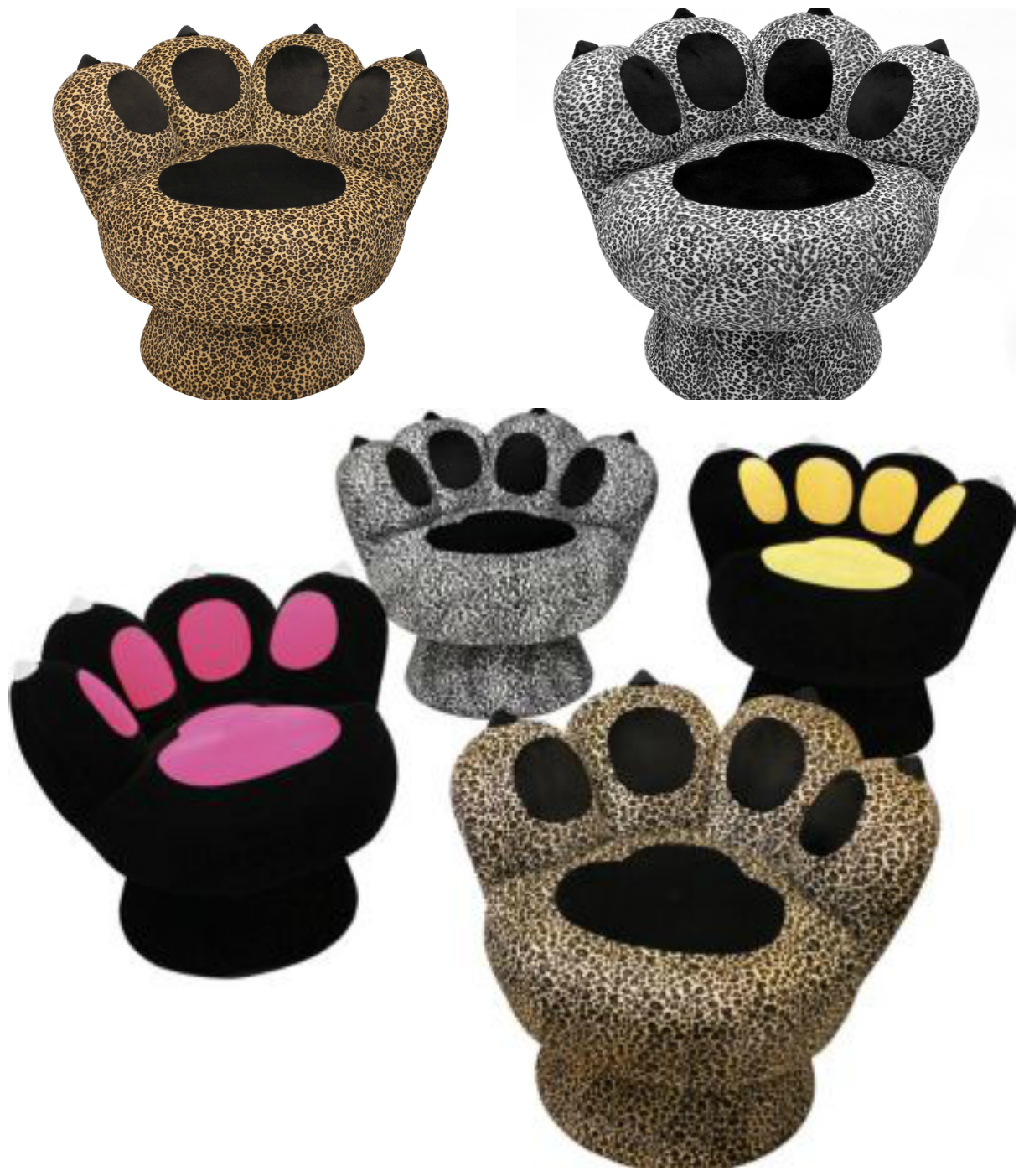 Paw Shaped Chair Designs
