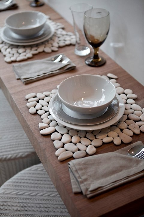 Pebble Stone Table Placemats