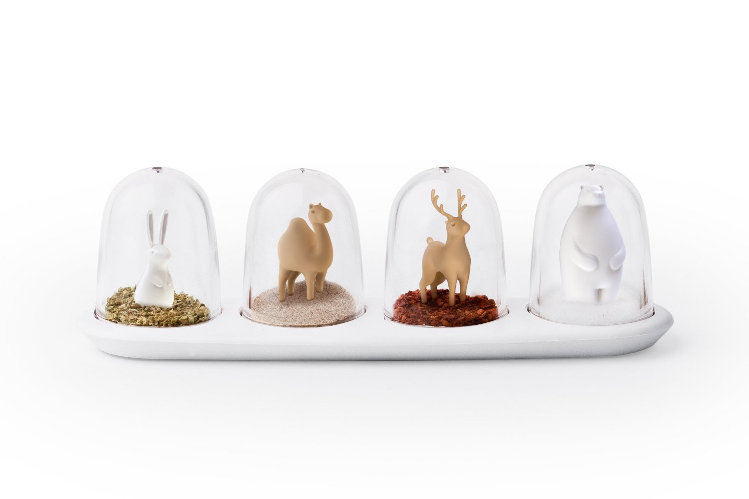Qualy Animal Parade Seasoning Shakers
