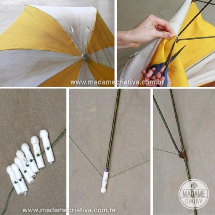 Reuse Broken Umbrella