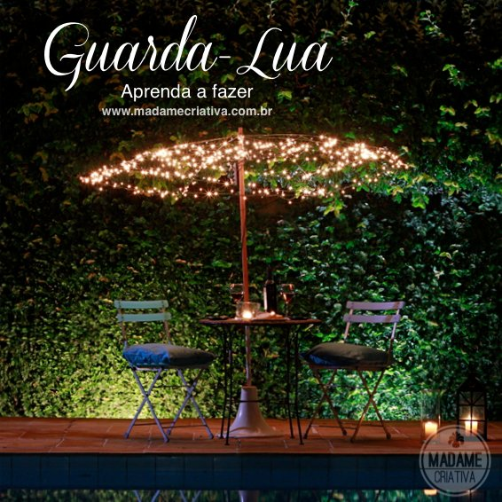 Romantic Dinner Table Umbrella