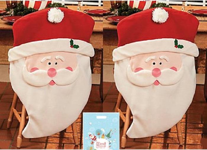 Santa Claus Kitchen Chair Covers