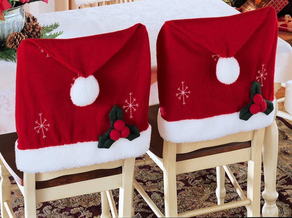 Christmas Holiday Chair Cover Pattern